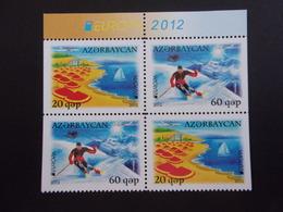 AZERBAYCAN BLOC DE 4 EUROPA 2012 NEUF** - Azerbeidzjan