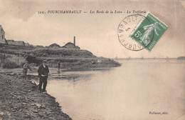 58 - Fourchambault - Les Bords De La Loire Animés - La Tréfilerie - Belle Partie De Pêche - Autres Communes