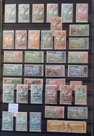 12 - 19 //  Guyane Et Inini   - Petite Collection En Général Beau - TB - Les Neuf Sont * - Usados