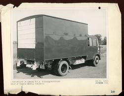 Original Photograph - 2 Ton Utility Truck - 1948  (21 X 15.5cm) - Foto