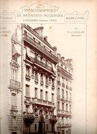 Monographies De Batiments Modernes N° 87 : Maison R Rocher 75008 Paris - Architecture