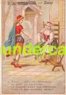 CHROMO E A GORLACHER RUE SAINT DIZIER NANCY 7,5 CM X 10,5 CM - Sonstige