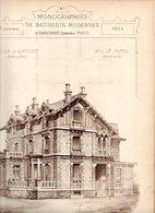 Monographies De Batiments Modernes N° 89 : Villa à Garches (92) - Architecture