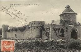 Finistère -ref-E382- Guilvinec - Chateau Fortifié Du Kergos - Chateaux - Carte Bon Etat - - Guilvinec