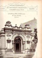 Monographies De Batiments Modernes N° 85 : Galerie Des Arts à Nîmes (30) - Architecture