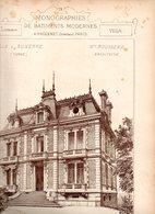 Monographies De Batiments Modernes N° 86 : Villa à Auxerre (89) - Architecture