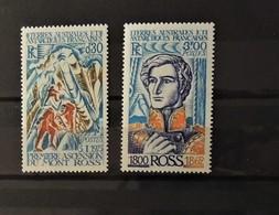 12 - 19 //  TAAF - 1976 - N° 61 Et 62 **  -  MNH  - Ross  -  Cote : 12 Euros - Unused Stamps