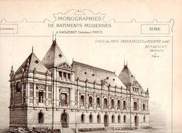 Monographies De Batiments Modernes N° 93 : École Des Arts Industriels à Roubaix (59) - Architecture