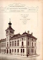 Monographies De Batiments Modernes N° 94 : Hôtel De Ville De Valence (26) - Architecture