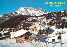 38 - Oz En Oisans - Vue Générale - Hiver - Neige - Carte Neuve - Voir Scans Recto-Verso - Andere Gemeenten