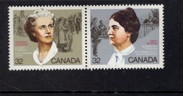 891168772 1985 SCOTT 1048A POSTFRIS MINT NEVER HINGED EINWANDFREI (XX) - THERESE CASGRAIN - EMILY MURPHY - 1952-.... Regering Van Elizabeth II