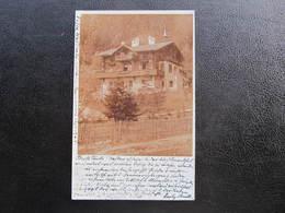 AK SPITAL Am Semmering Villa Waldruhe MZ 1901 //  D*41037 - Semmering