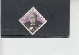 VENEZUELA  1965 -  - Yvert  A868 - Churchill - Venezuela