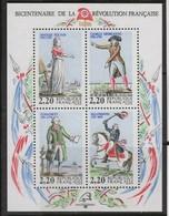 FR3218 - FRANCE – 1989 - BLOCKS - BLOCS - REVOLUTION FRANCAISE - Y&T # 10 NEUF ** MNH - Cote 4,50 € - Ongebruikt