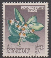 Nauru ASC 48 1963 Pictorials,5d Calophillum Flower, Used - Unclassified