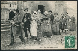 Une Noce Aveyronnaise - 2031 VDC - Voir 2 Scans - Francia