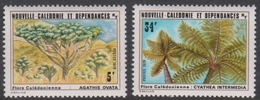 New Caledonia SG 624-625 1979 Trees, Mint Never Hinged - Trees