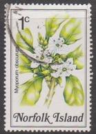 Norfolk Island ASC 316 1984 Flowers,1c Popwood, Used - Unclassified