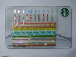 China Gift Cards, Starbucks, 500 RMB, 2017 (1pcs) - Gift Cards