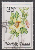 Norfolk Island ASC 326 1984 Flowers,35c Hibiscus, Used - Unclassified