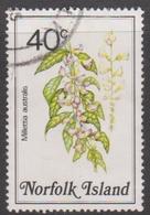 Norfolk Island ASC 327 1984 Flowers,40c Wisteria, Used - Unclassified