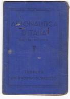 AERONAUTICA  D'ITALIA - TESSERA DI RICONOSCIMENTO - ANNO 1942 - Vecchi Documenti