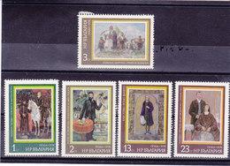 BULGARIE 1978 PEINTURES Yvert 2417-2421 NEUF** MNH - Bulgarien