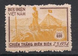 North Vietnam - 1954 - Service N°Yv. 1 - 0k600 Orange - Neuf Luxe ** / MNH / Postfrisch - Viêt-Nam