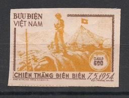 North Vietnam - 1954 - Service N°Yv. 1 - 0k600 Orange - Non Dentelé / Imperf. - Neuf Luxe ** / MNH / Postfrisch - Viêt-Nam