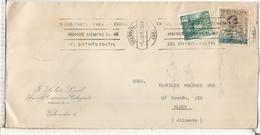 VALENCIA CC CON SELLO PLAN SUR DE VALENCIA - 1931-Hoy: 2ª República - ... Juan Carlos I