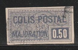 FRANCE - COLIS POSTAUX - N°26 Obl (1918-20) 50c Violet NON DENTELE - - Oblitérés