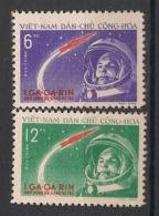 North Vietnam - 1961 - N°Yv. 228 à 229 - Gagarin - Neuf Luxe ** / MNH / Postfrisch - Espacio