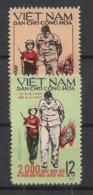 North Vietnam - 1967 - N°Yv. 541 à 542 - 2000 Avions Abattus - Neuf Luxe ** / MNH / Postfrisch - Viêt-Nam