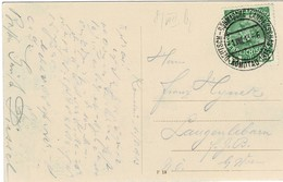 """1913, """" Komotau """" Seltener So.-Stp. ,    A2719 - 1850-1918 Empire"""