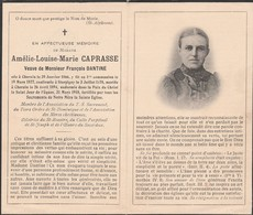 Amélie Louise Marie Caprasse-cherain 1866-1918 - Devotieprenten