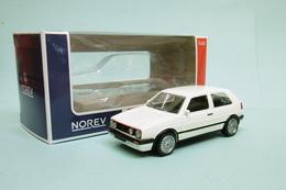 Norev Jet-Car - VOLKSWAGEN VW Gofl GTI G60 1990 Blanc Youngtimers Neuf NBO 1/43 - Norev