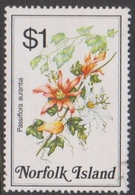 Norfolk Island ASC 329 1984 Flowers,$ 1 Passionfruits, Used - Unclassified