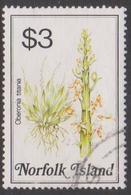 Norfolk Island ASC 330 1984 Flowers,$ 3 Oberonia, Used - Unclassified