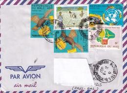 Mali 1997, Nice Aircover, Lots Of Stamps - Mali (1959-...)