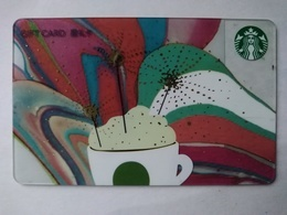 China Gift Cards, Starbucks,  500 RMB, 2016 (1pcs) - Gift Cards