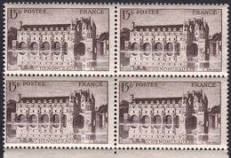 FRANCE, 1944, 15fr, Château De Chenonceaux (Yvert 610). - France