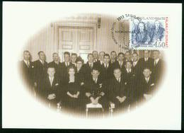 Mk Greenland Maximum Card 1998 MiNr 315 | New Order, 1950 (redefinition Of Greenland's Status) - Cartes-Maximum (CM)