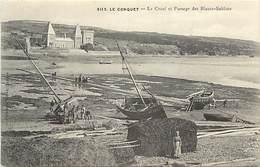 Finistère -ref-E350- Le Conquet - Le Croaé Et Passage Des Blans Sablons - Carte Bon Etat - - Le Conquet