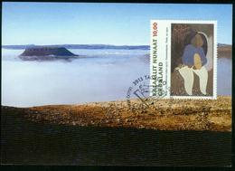 Mk Greenland Maximum Card 1997 MiNr 310 | Greenland Art, 20th Death Anniv Of Aage Gitz-Johansen - Cartes-Maximum (CM)