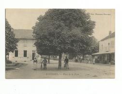 71 Saone Et Loire Cpa ECUISSES Place De La Poste - Francia