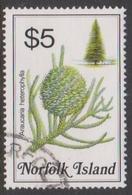 Norfolk Island ASC 331 1984 Flowers,$ 5 Pine, Used - Unclassified