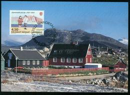 Mk Greenland Maximum Card 1997 MiNr 312 | Bicentenary Of Nanortalik - Cartes-Maximum (CM)
