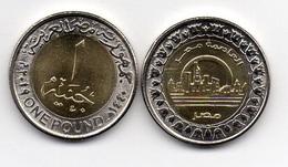 Egypt - 1 Pound 2019 UNC New Capital - Alamein City Lemberg-Zp - Egitto