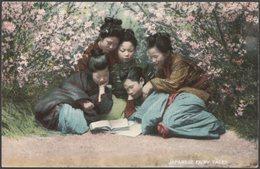 Japanese Fairy Tales, C.1905 - Landeker & Brown Postcard - Japan