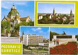 Subotica - Not Traveled FNRJ - Serbie